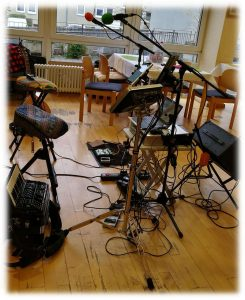 Duo Dulbano - spielt im Oberin-Martha-Keller-Haus