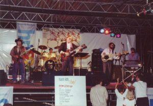"""""""The JukeBox Heroes"""" - 1989 beim Live-Konzert des hr1 im Frankfurter Grüneburgpark"""