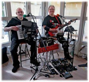 Duo Dulbano im Buergermeister Graef Haus 2018, mit freudlicher Genehmigung von Harald Noebel