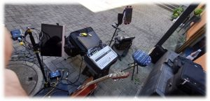 """Duo Dulbano"" - OMK-Hofkonzert - 2020-07-30 - Arbeitsplatz Wolfgang (GitarrenCister)"